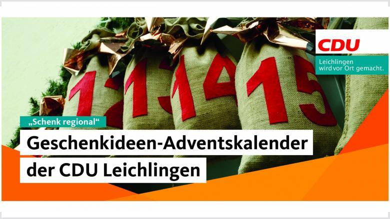 Der Geschenkideen-Adventskalender der CDU Leichlingen